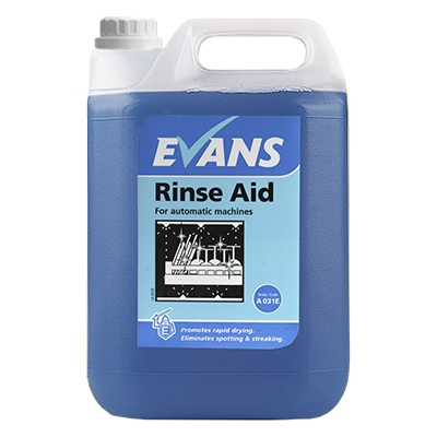 14093180942009 - Evans Rinse Aid Dishwash 2 x 5ltr
