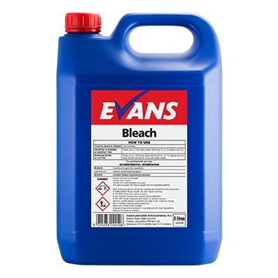 15115274804263 - Evans General Purpose Bleach 2 x 5Ltr