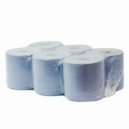 Blue roll - Centrefeed roll 2ply blue