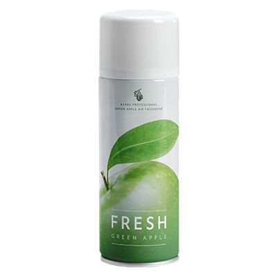 freshgreenapple productimage1 - evans air freshener ( aerosol ) 12x400ml