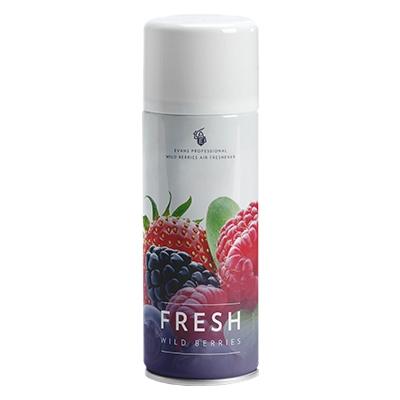 freshwildberries productimage1 - evans air freshener ( aerosol ) 12x400ml