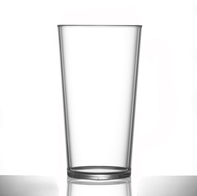 plastic conical premium conical pint ce beer glass - POLYCARBONATE PREMIUM 200Z PINT (24)Product