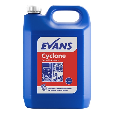 cyclone productimage1 - Cyclone Extra Thick Bleach 2 x 5Ltr