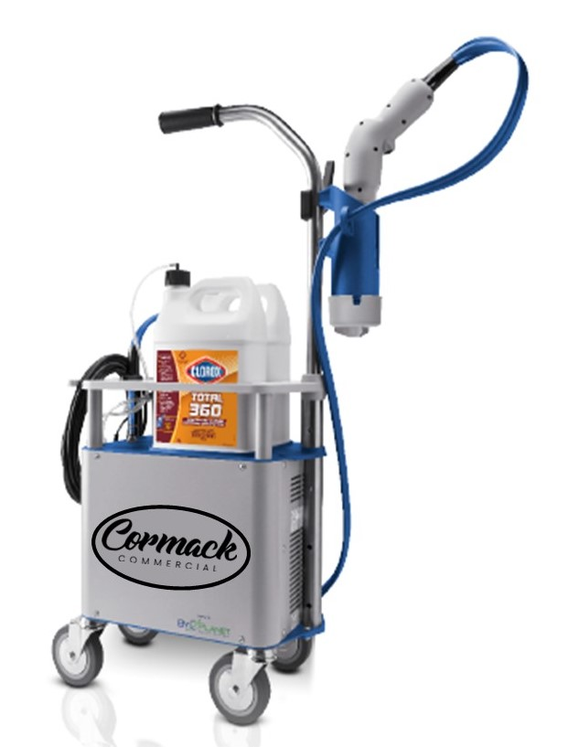 electrostatic 360 sprayer machine - Antimicrobial Protection Coatings Division